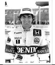Nelson Piquet Williams FW11 #6 1987 Silverstone Fotografía Foto Retrato