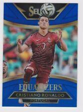 2015-16 Panini Select Soccer Equalizers Blue Cristiano Ronaldo 158/299