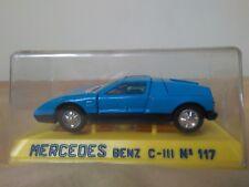 Preciosa miniatura 1:43 Mercedes Benz C-111 Joal 117 Serie 100. Made in Spain.