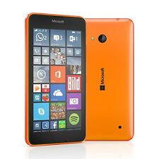 New Nokia Microsoft Lumia 640 Orange 8GB Dual Sim 3G Windows Unlocked Smartphone