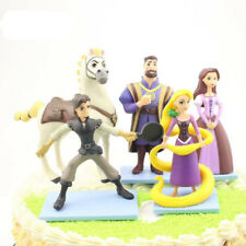 5 DISNEY TANGLED PRINCESS RAPUNZEL ACTION FIGURES BIRTHDAY CAKE DECOR GIFT TOY