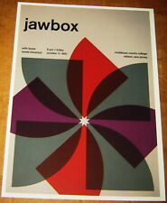 JAWBOX GANG OF FOUR ROCK CONCERT POSTER SWISS PUNK GRAPHIC POP ART 2 SIDED 10X14