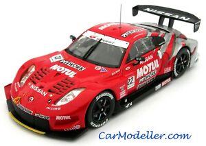 Ebbro Nissan Motul Pitwork Z Super GT Championship #22 2005 1:43 scale #43688