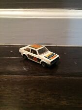 Excellent 1978 Matchbox #9 Ford Escort RS2000, White with Shell #9 Stickers