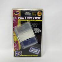 NYKO 6-PAK Care Case Cartridge Protector Cases Nintendo Game Boy Advance NEW GBA