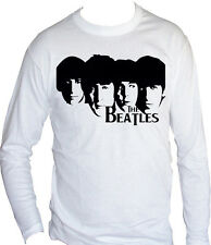 fm10 t-shirt à manches longues unisexe 4 THE BEATLES Lennon McCartney Starr