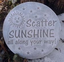 Scatter sunshine mold reusable plaster concrete casting mould