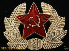 RUSSIAN MILITARY CAP HAT BADGE PIN SOVIET UNION Sochi Winter Olympics TIE TAC