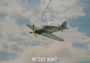 Soviet Union Air Force WWII Hawker Hurricane 1 Prop Christmas Ornament Airplane