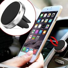 Black Car Mount Air Vent Magnetic Holder Stand for Phone Mobilephone GPS DF