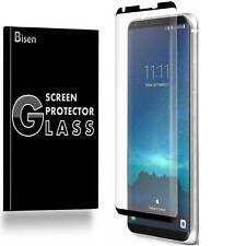 [2-PACK BISEN] LG V30 Tempered Glass 3D Curved FULL COVER Screen Protector Saver