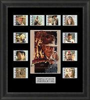 Indiana Jones Temple of Doom Framed 35mm Film Cell Memorabilia Filmcells Movie