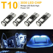 Canbus Error Free T10 W5W Blue 3030-SMD-LED Dome Interior Car Light Bulbs 4Pcs