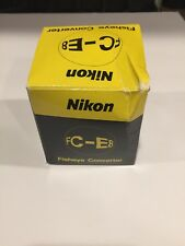 Nikon (Vintage) FC-E8 Fisheye Converter New Some Box Damage