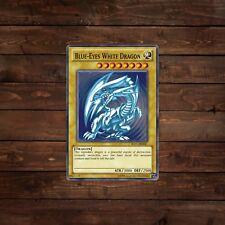 Blue Eyes White Dragon Trading Card Decal/Sticker