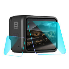 Toughened glass protective lens/screen protector for Gopro hero 8 Black