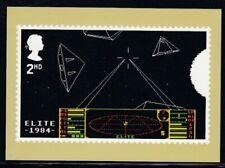 Great Britain Elite 1984 Video Games Royal Mail Stamp Card