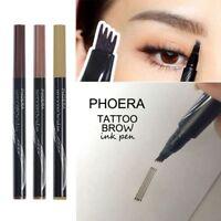 Phoera Stylo de sourcil liquide de stylo de tatouage de stylo durable Durable FR