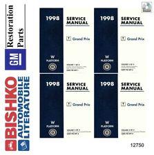 1998 Pontiac Grand Prix Shop Service Repair Manual CD