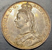 More details for 1888 silver crown, uncirculated, prooflike fields, olive toning, scarce