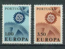 Portugal Briefmarken 1967 Europa Mi.Nr.1026+27 ** postfrisch