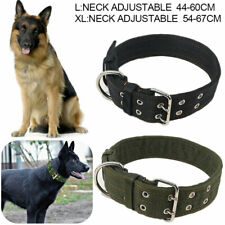 Heavy Duty Large Dog Collar Neck Buckl Large Breed Nylon Collars Adjustable XL/L