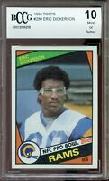 1984 Topps #280 Eric Dickerson Rookie Card BGS BCCG 10 Mint+