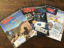 Qst Magazines-3 issues Dec '15 Jan & Feb '16 -Amateur Ham Radio Arrl-New/Unread