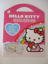 Sandylion Hello Kitty Grab and Go Sticker Play scenes coloring pages