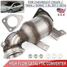 Catalytic Converter Kit For 2011 2012 2013 2014 2015 2016 Chevrolet Cruze 14l Fits 2012 Chevrolet Cruze Lt