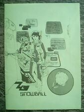 *INSTRUCTIONS ONLY* Snowball by Level 9 Computing for Amstrad 464