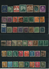 Germany, Deutsches Reich, Nazi, liquidation collection, stamps, Lot,used (RH 11)