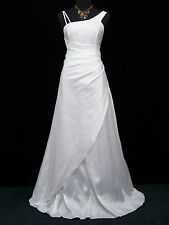 Cherlone Plus Size White Ballgown Wedding Evening Formal Bridesmaid Dress 24-26