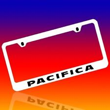 CHRYSLER *PACIFICA* GENUINE ENGRAVED CHROME LICENSE PLATE FRAME TAG HOLDER 2