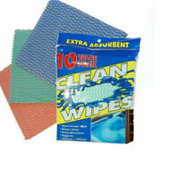 10 Extra Absorbent Wipe Kitchen Reusable Cleaning Towel Cloth Dish Drying Polish