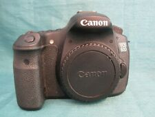 Canon EOS 60D 18.0 MP Digital DSLR Camera (Body Only) Black - Works Great