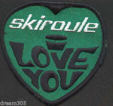 Vintage 1970s Snowmobile SKI ROULE SKIROULE Sled Patch