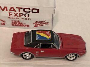 Matco Tools Racing Champion 1/64th Scale Diecast Expo 2005 '68 Pontiac Firebird