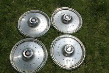 """Set of 4-1970-72 Buick Special 14"""" Hubcaps/Wheel Covers #1034"""