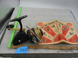 VINTAGE PENN SPINFISHER MODEL 712Z SPINNING REEL MADE IN USA WITH MANUAL