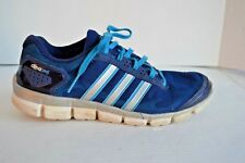 Adidas Clima Cool Fresh Men's 8 Night Blue/White/Solar Blue Lt Wt Running Shoes
