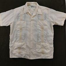 Vintage 70's Chichen-itza Guayabera Mens Shirt Size XL