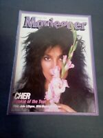Moviegoer January 1984  Cher -  Rookie Of The Year -  Vintage Magazine