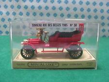 Vintage - Panhard & Levassor Tonneau Roi des Belges 1905 - 1/43 Minialux n°30