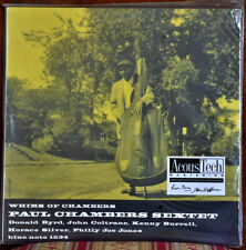 AUDIOPHILE ANALOGUE PRODUCTION PAUL CHAMBERS SEXTET 180g #2LP SET #2001 SEALED