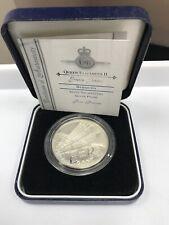 2002 BERMUDA PROOF GOLDEN JUBILEE  SILVER $5 DOLLAR COIN