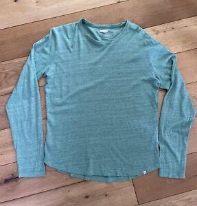 Men's Orlebar Brown Green T-Shirt Long sleeves Size Medium