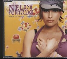 Nelly Furtado powerless (say what you want cd single 4 track)