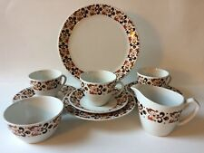 18 Pieces Alfred Meakin Tea Set Modern Design