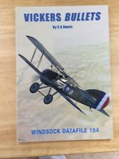 NEW - WINDSOCK DATAFILE 154 - VICKERS BULLETS - PB